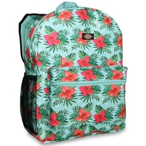 """#956 Dickies 17"""" Tropical Floral Student Backpack"""